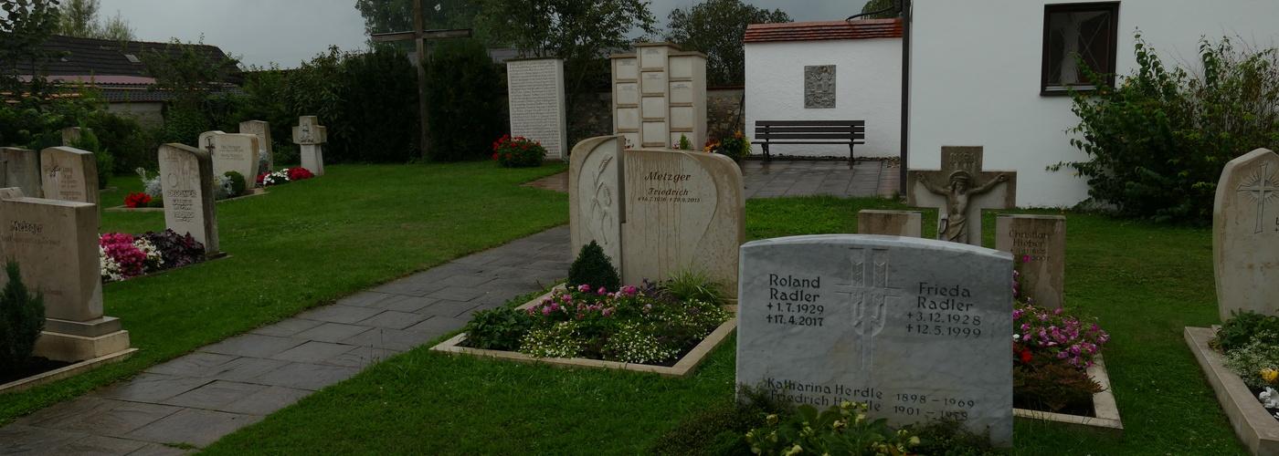 Friedhof in Rudelstetten